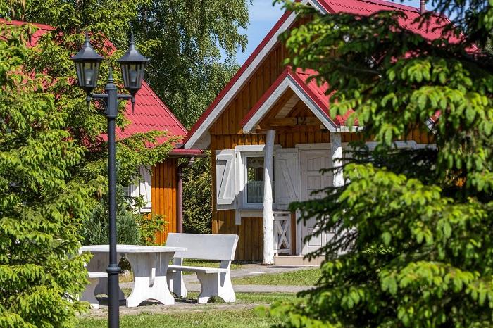 1-wöchiger Wellnessurlaub / Ferienhausanlage Bursztyn