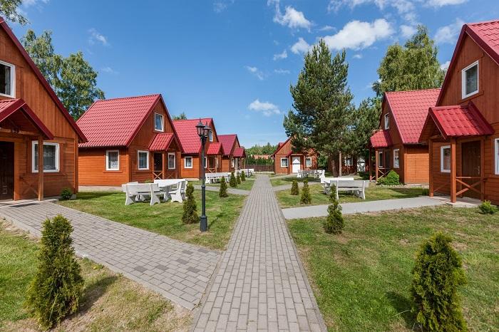 2-wöchiger Wellnessurlaub / Ferienhausanlage Bursztyn